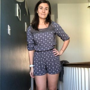 Abercrombie and Fitch Floral Romper